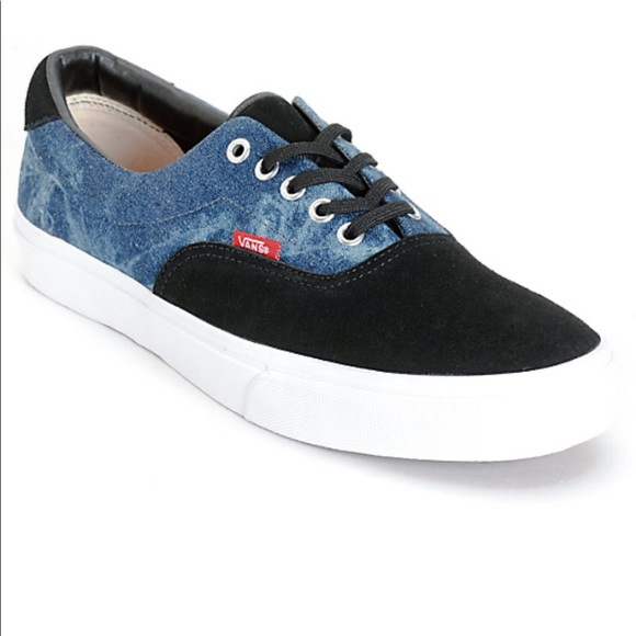 vans era 59 denim suede